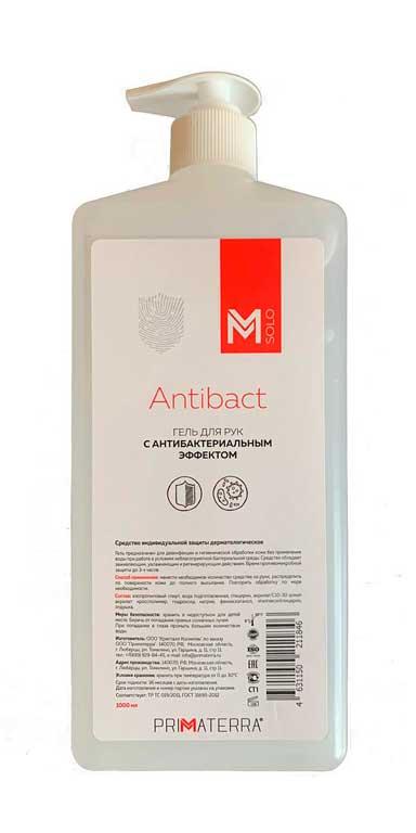 Антибактериальный гель PRIMATERRA (антисептик) 1л